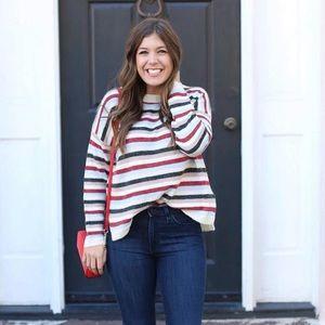 Striped Sweater - Medium